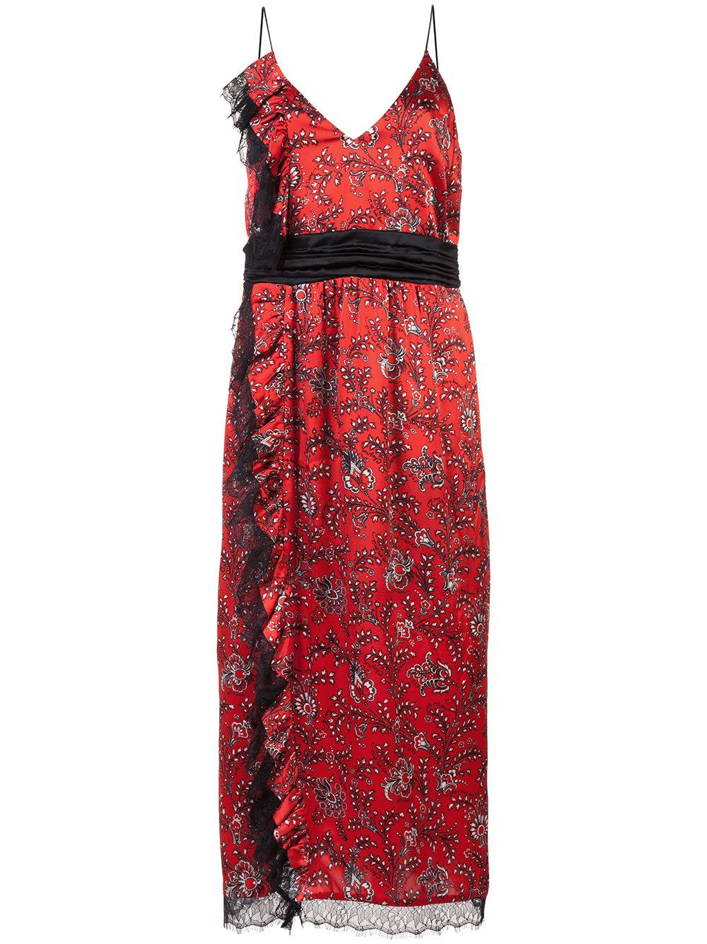 CINQ A SEPT ruffle dress - $525