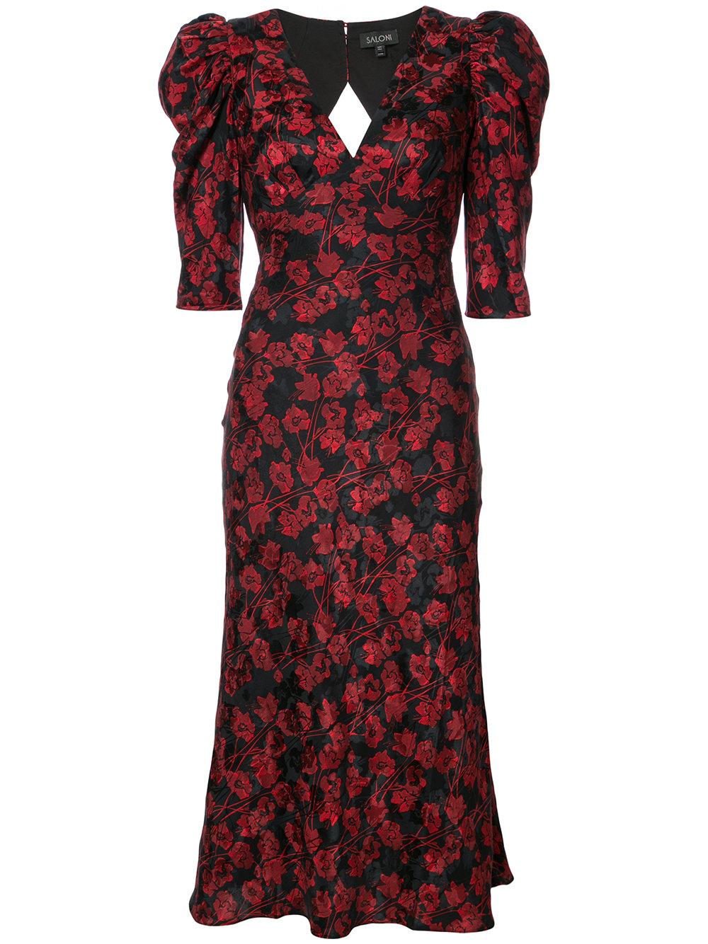 SALONI floral print dress - $675