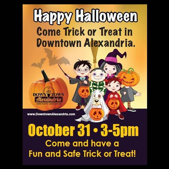 🍭🍭🍬 Downtown Trick or Treat 🍬🍭🍭 Tomorrow from 3-5!