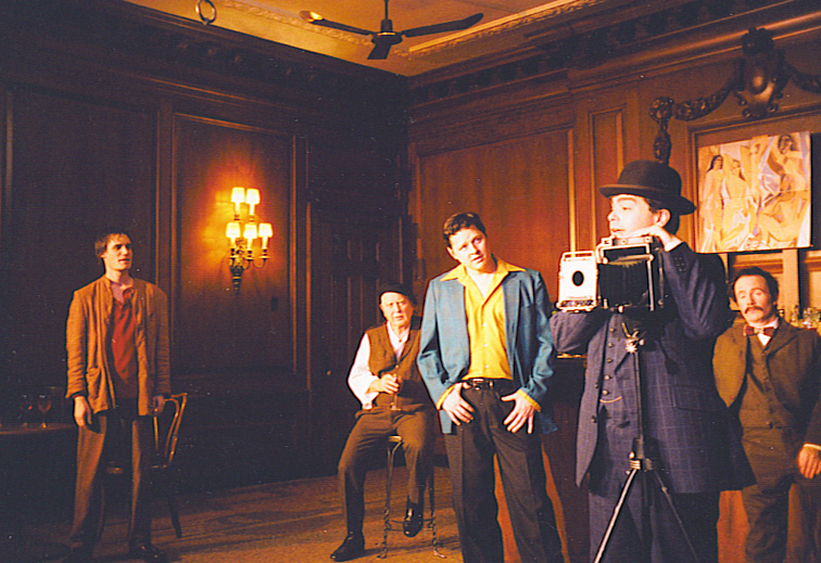 Picasso at the Lapin Agile  at New Leaf Theatre (Chicago, IL) 2002. Directed by Brandon Bruce.