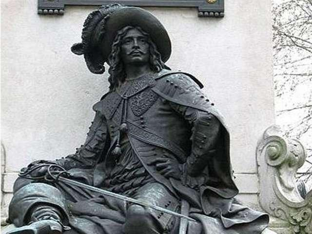 The famous historic Musketeer, Charles Ogier de Batz de Castelmore, Comte d'Artagnan