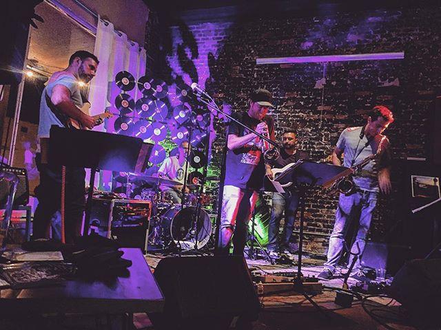 Fun night at @rabbitfootrocks - hope to be back soon! #robotman #music #livemusic #pickupjazz #jazz #funk #soul #guitar #bass #drums #sax #trumpet #sanfordfl #flmusic