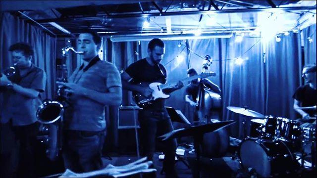 """Kind of Blue"" #doublebassist #trumpet #tenorsax #drums #orlando #orlandomusic #experimentalmusic #originalmusic#instamusician #stardust"