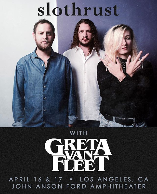 Guess what ya'll, we are opening for @gretavanfleet on April 16 and 17 at the @fordtheatres in Los Angeles!!! Luvs it.
