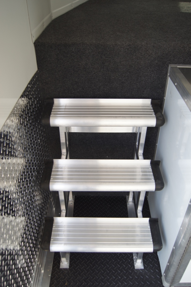 Aluminum Gooseneck Step