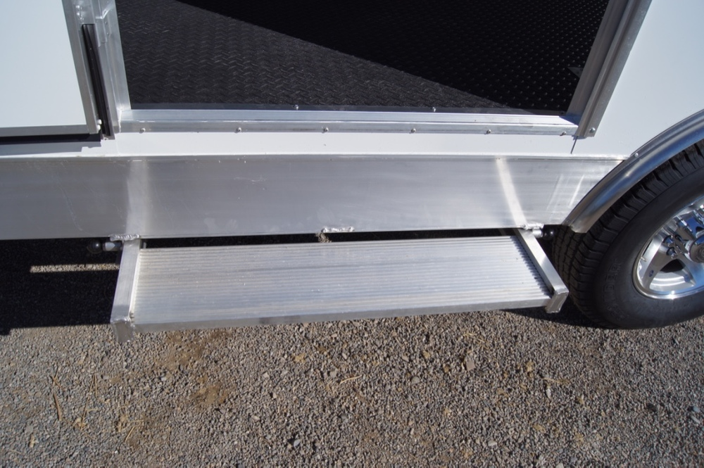 Slide Out Aluminum Steps