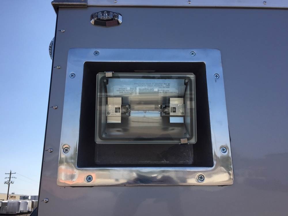 Recessed 500 watt Halogen Exterior Lights