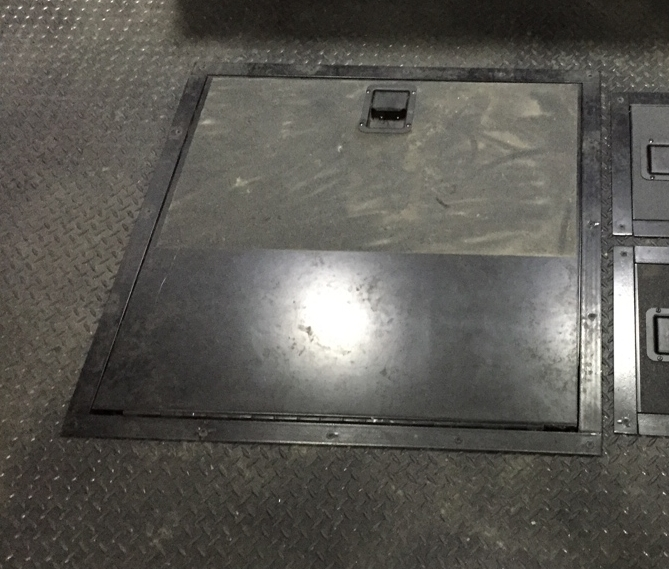 Recessed Spare Tire Box