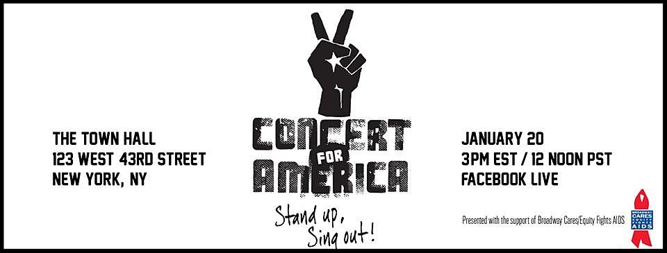 #Concert4America