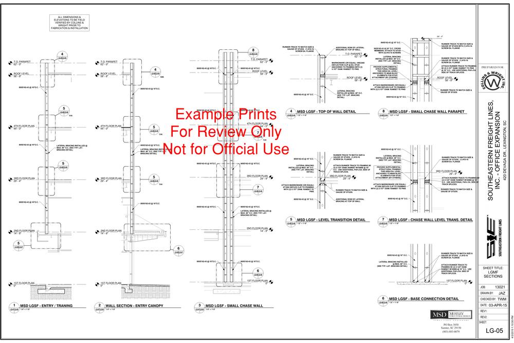 Light Gage Framing — Motley Structural Design
