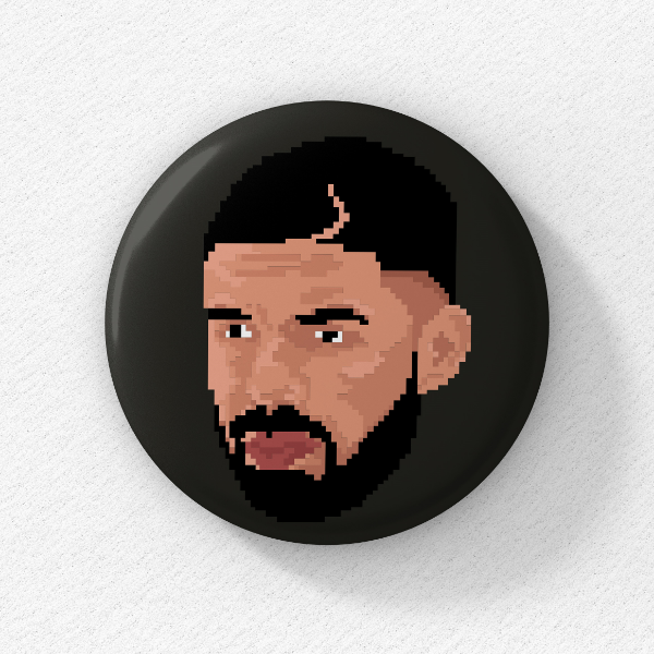 Drake: Collectible Button