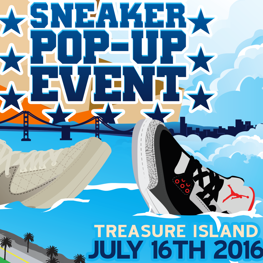 One of the Bay Area's biggest sneaker events. Get your tickets early.