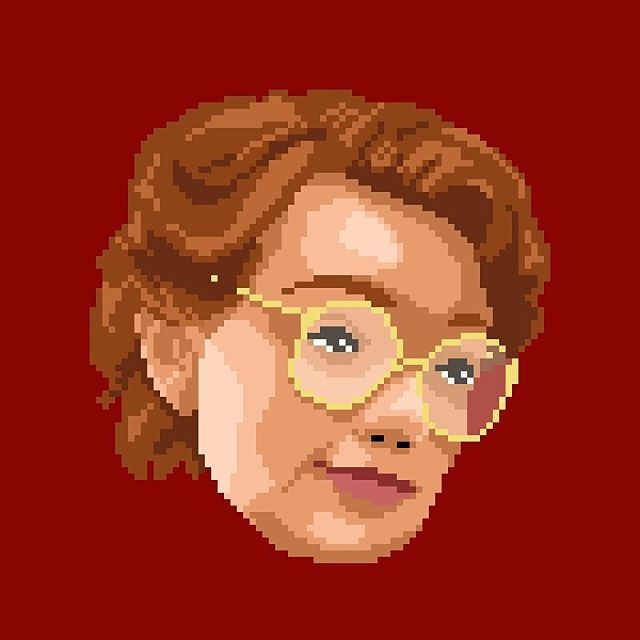 BARB • #StrangerThings Last but not least, a fan favorite! Hope you enjoyed this series, what stickers would you want to see from the group?