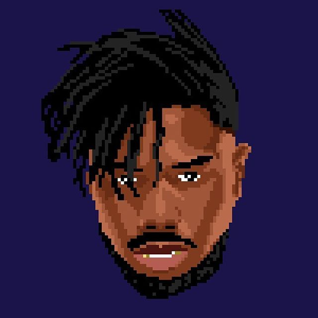 ERIK KILLMONGER • #BlackPanther did you enjoy his role as antagonist in the movie? 🙅🏾‍♂️