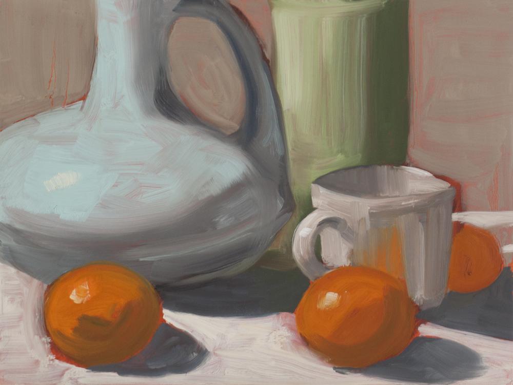 Three Clementines