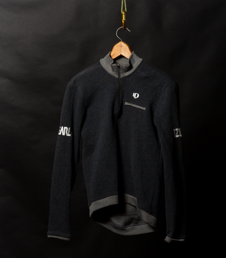 Pearl Izumi Wool Road Cycling Jersey | $10 - Retro Style. Perfect cut for cycling posture - longer in the back.