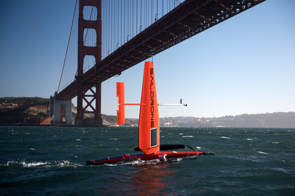 Image courtesy of Saildrone.
