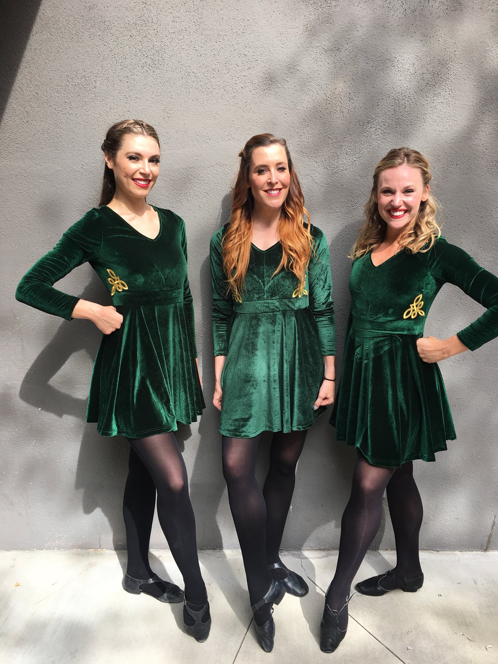 Three Irish Dancers