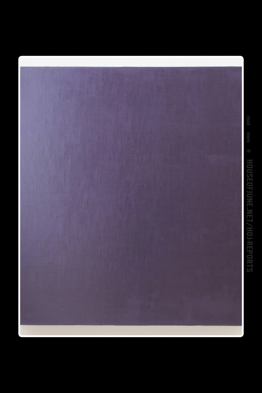David Simpson   (Acrylic on Canvas)  Deep Violet, 2000