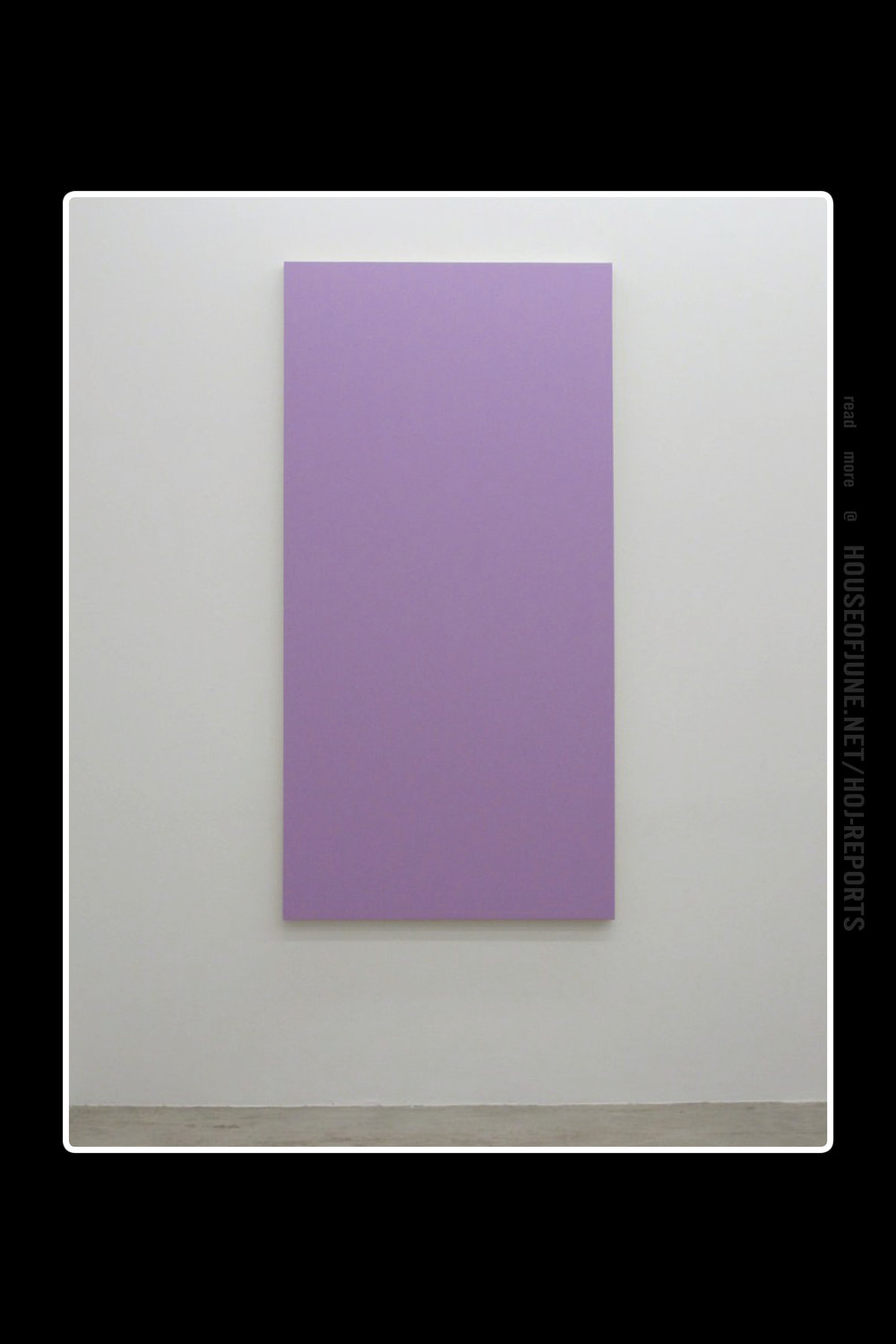 Henry Codax   (Acrylic on Canvas)  Untitled (Violet), 2012