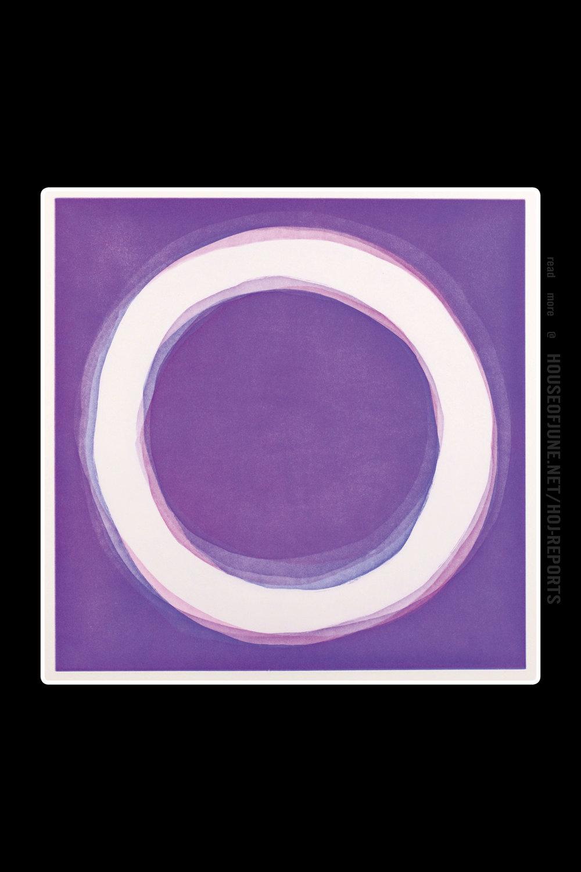 Jaakko Mattila   (Aquatint)  Violet, 2016