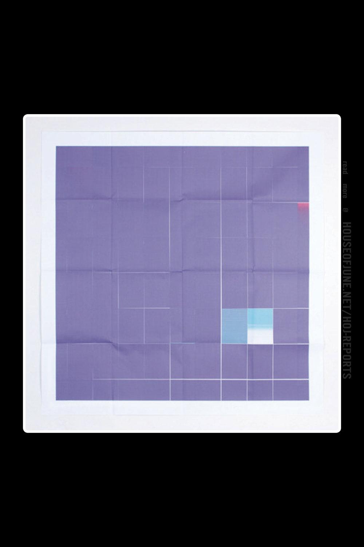 Juan Carlos Bracho   (Printed Ink)  Violeta Imperial, 2013