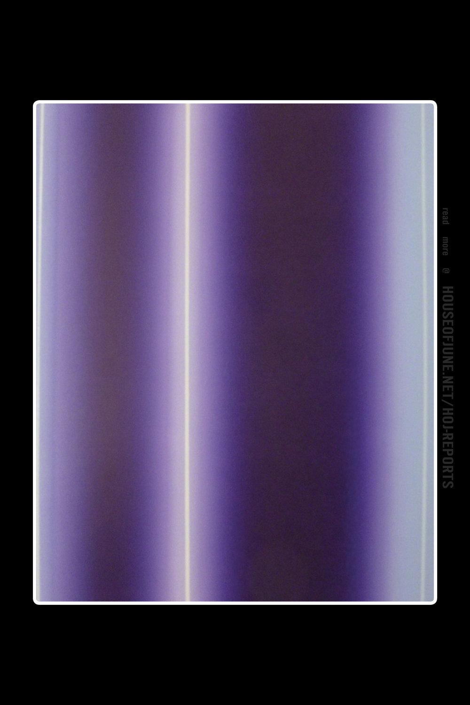 Lorna Livey  (Monotype)  Violet Illusions, 2015