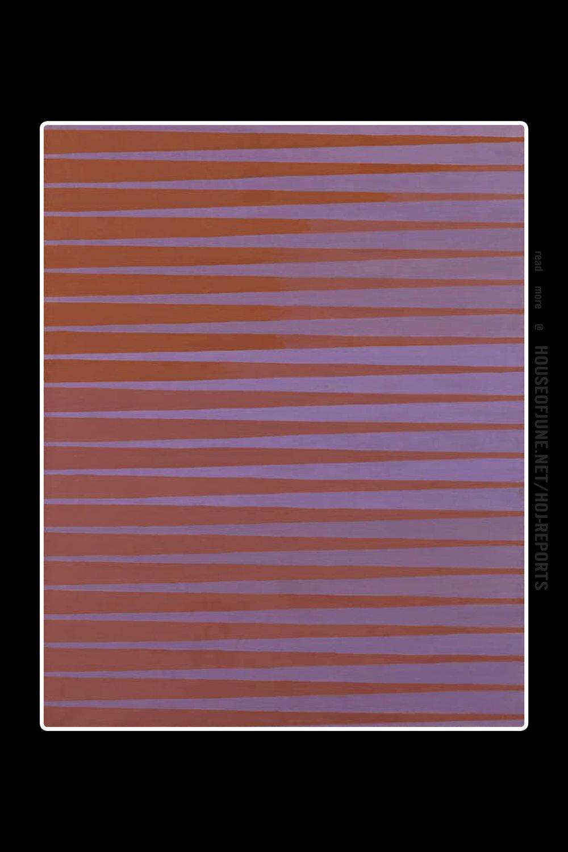 Michael Kidner   (Oil on Canvas)  Orange to Violet