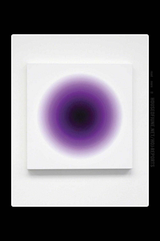 Oliver Marsden   (Oil on Canvas)  Deep Blue Violet Pink Harmonic