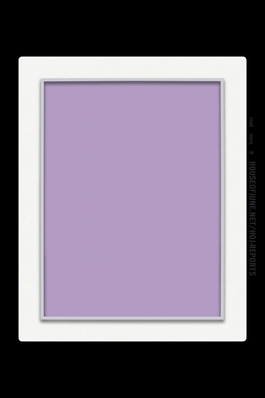 Phil Chang   (Unique Chromogenic Print)  Untitled (Purple Monochrome), 2015