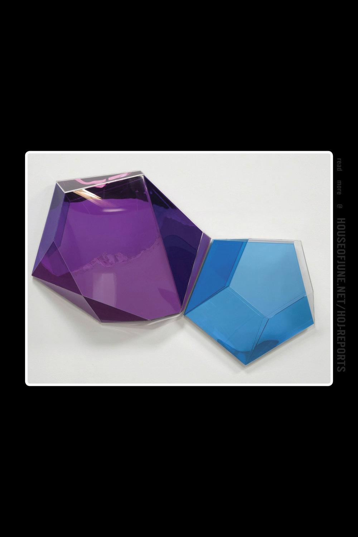 Rachel Lachowicz   (Plexiglas Case With Eyeshadow)  Reflex Violet/blue, 2013