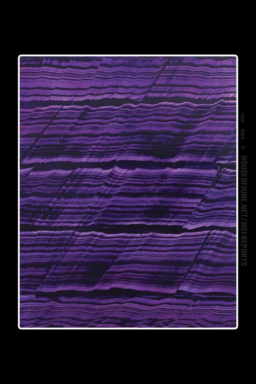 Ricardo Mazal   (Oil on Linen)  Violet Blue 12, 2017