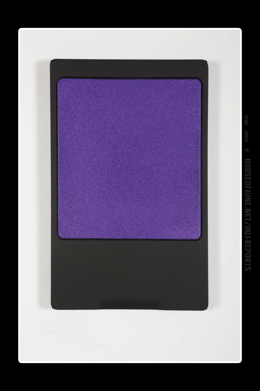 Sylvie Fleury   (Acrylic on Canvas on Wood)  Wet & Wild (Purple), 2017