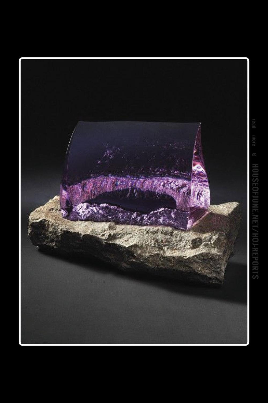 Vladimir Zbynovsky   (Rock and Optical Glass)  Purple Spirit