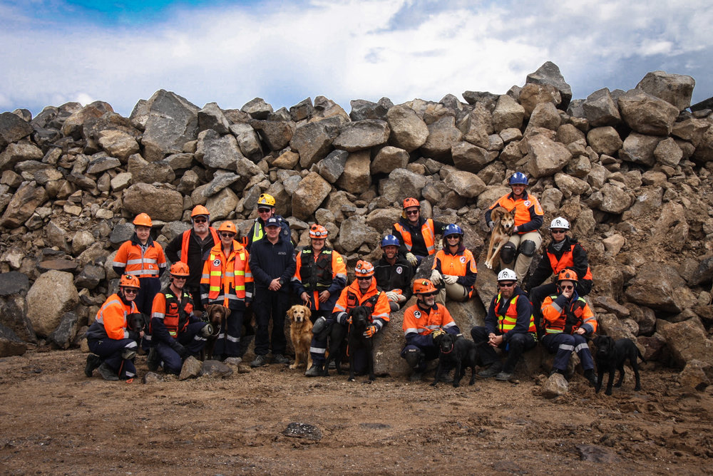 2016 Disaster K9 Workshop: Australia participants
