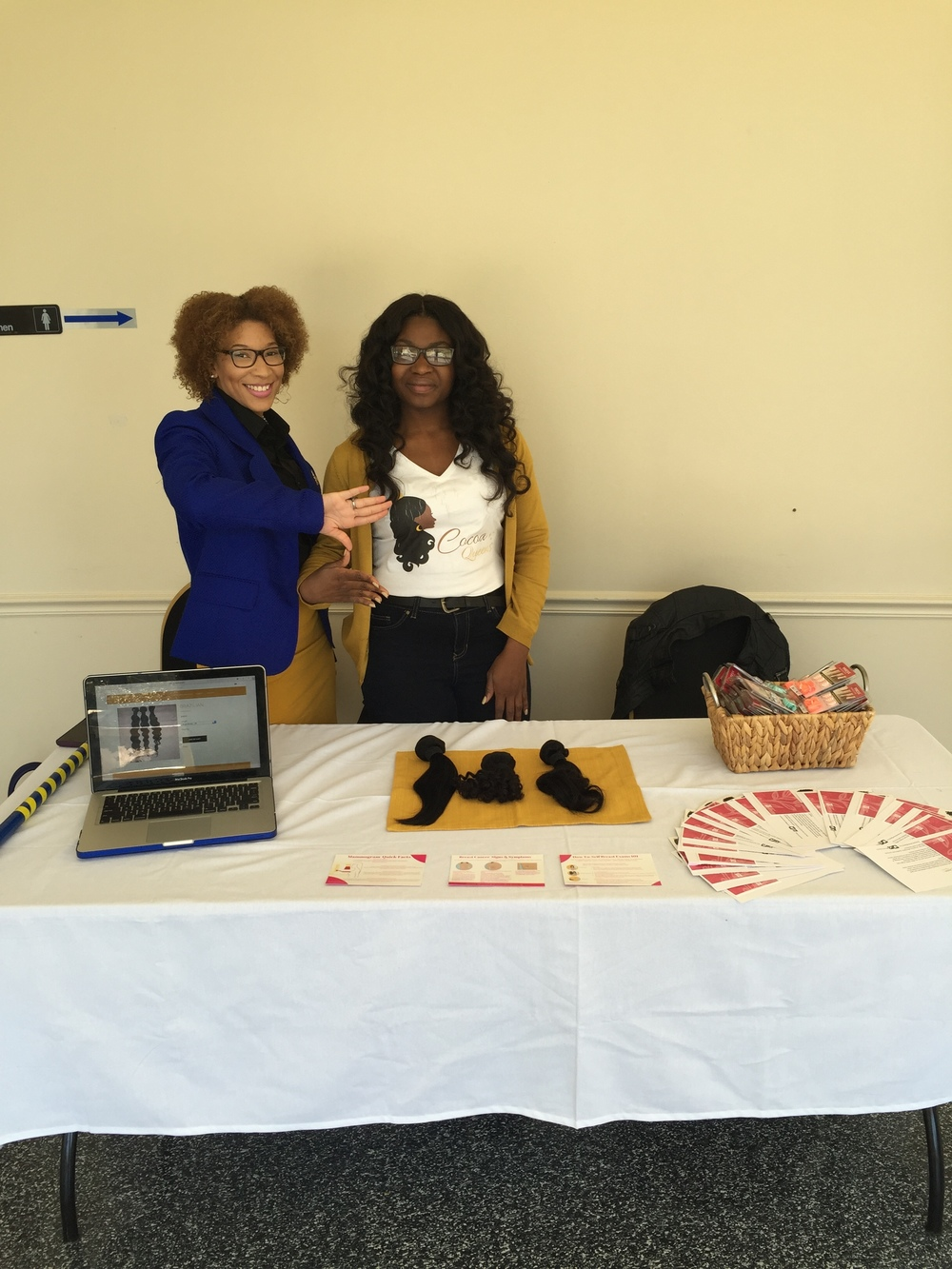 Cocoa Queens pop up shop at Bowie State University