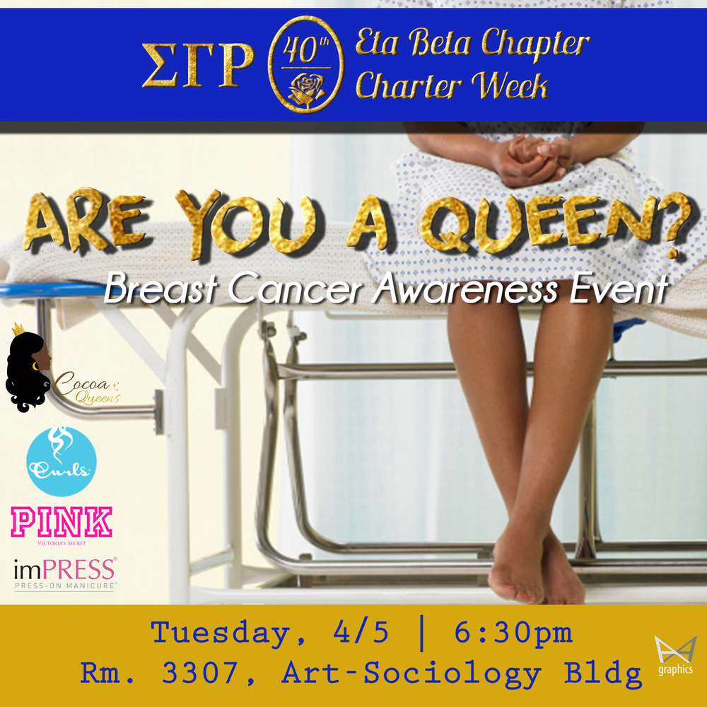 Are you a Queen breast cancer prevention and awareness event with the Capital Breast Care Center of Georgetown University.