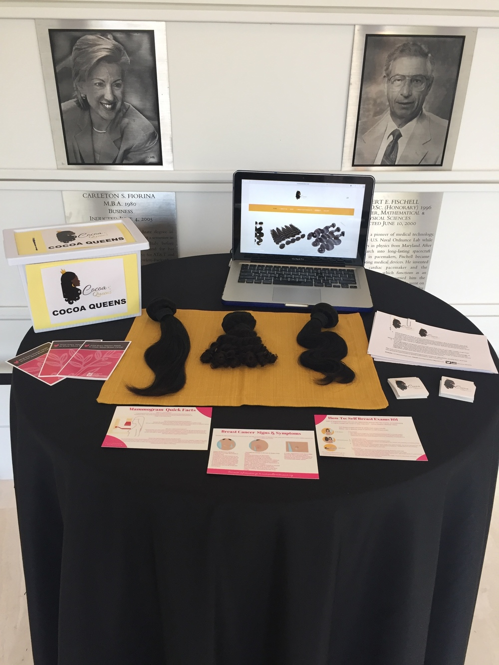 Cocoa Queens was so excited to be a part of the  2016 Do Good Challenge Social enterprise Showcase finals- take a look at our table at the event!
