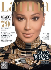 Adrienne Bailon graces the cover of Latina magazine.