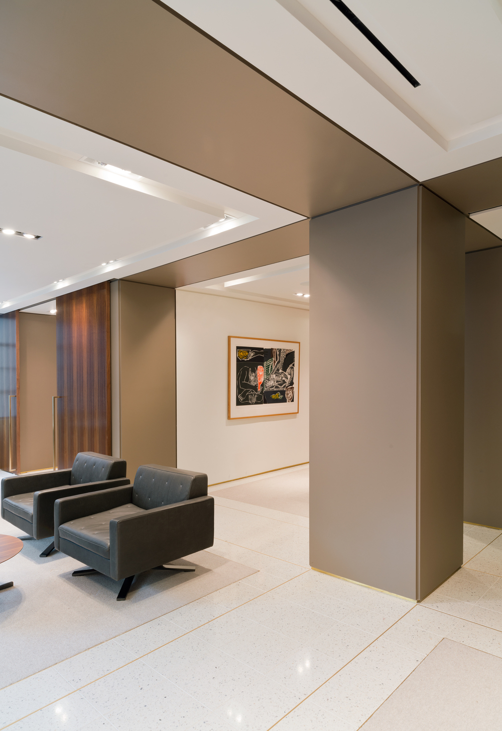 Integrated Floor and Ceiling