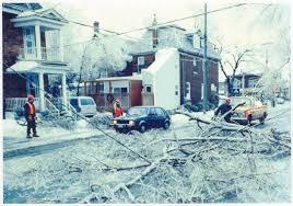 The ice storm, 1998.