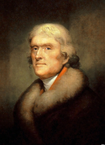Thomas Jefferson, American radical revolutionary.