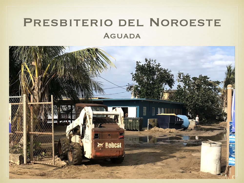 Aguada is home to a significant fish market. Many restaurants purchase their seafood here. After suffering heavy damage during the hurricane, the market had just reopened, only to be battered again by the waves.