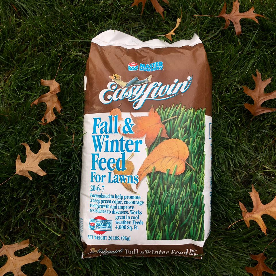 Feed your lawns!