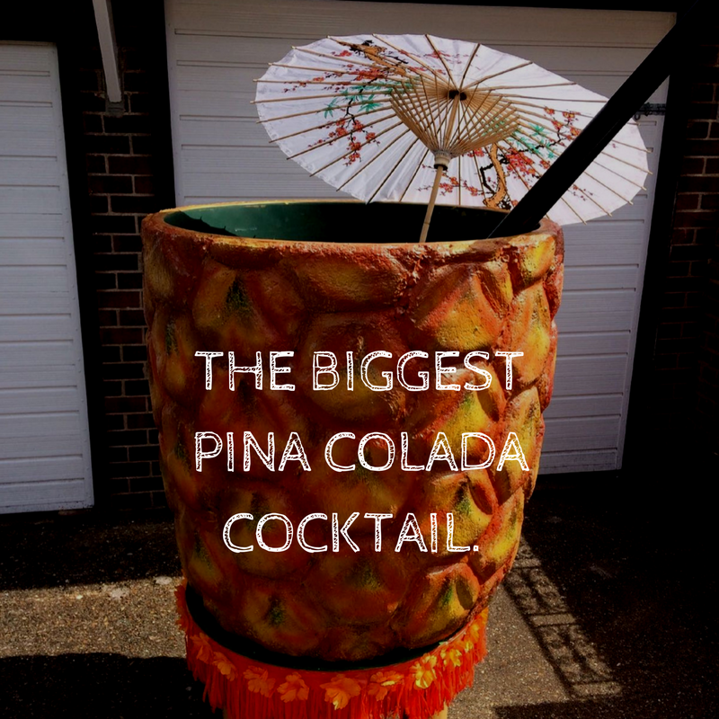 grootste pina colada