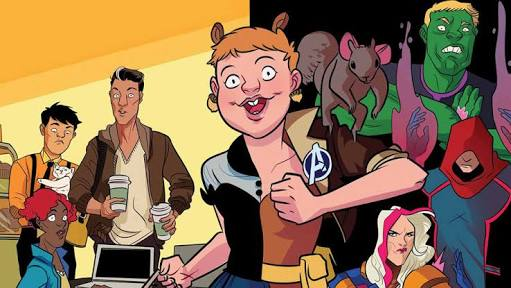 Nothing, and I mean NOTHING, makes me laugh like Ryan North and Erika Henderson's  Unbeatable Squirrel Girl.