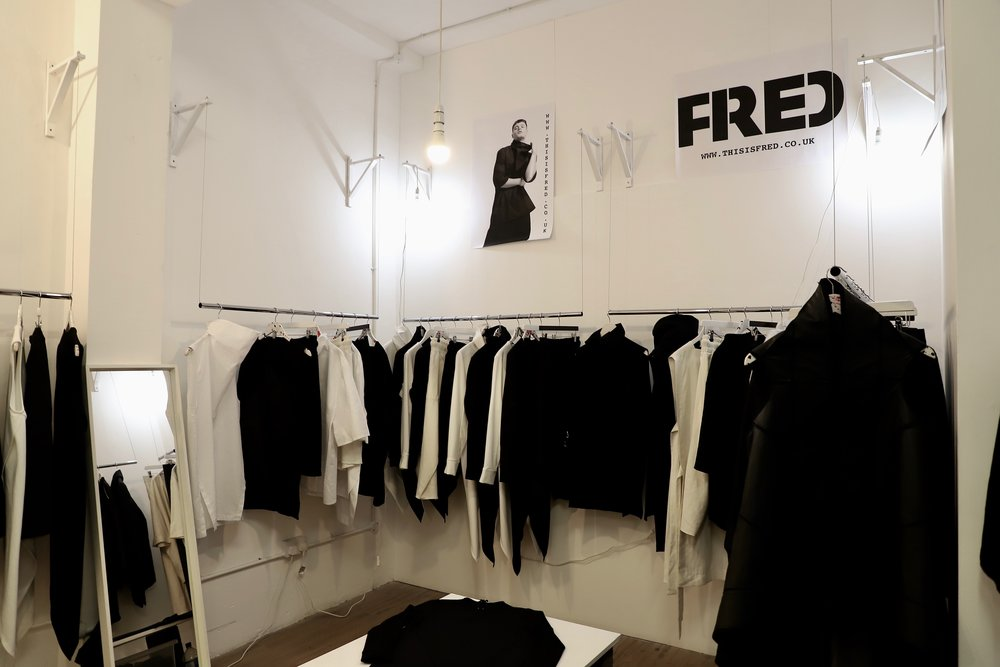 The 'THIS IS FRED' store at Brick Lane Market in London, England. (photo by Nathan Sing)