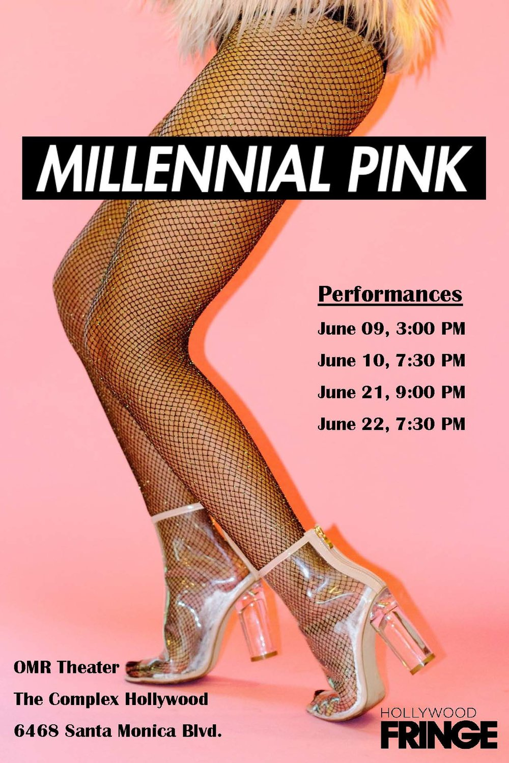 Buy tickets HERE - I'm joining this badass cast JUNE 9th -10th! Come and support live theatre and the Hollywood Fringe!**$12 with promo code avocadotoast