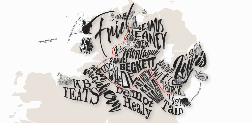 I can barely believe it, but I'm on my way to Northern Ireland for the VERY FIRST TIME as part of the production team for Arts Over Borders 2018. An astonishing collection of readings, workshops, and site specific performances, AOB brings to light some of my absolute favorite pieces of theatre. This year marks the 3rd Lughnasa Frielfest and the 6th Happy Days International Beckett festival, not to mention works by Chekhov, Homer, and more!  From Enniskillen to Donegal, this Irish lass is finally heading home! Check out the magic to come   here !