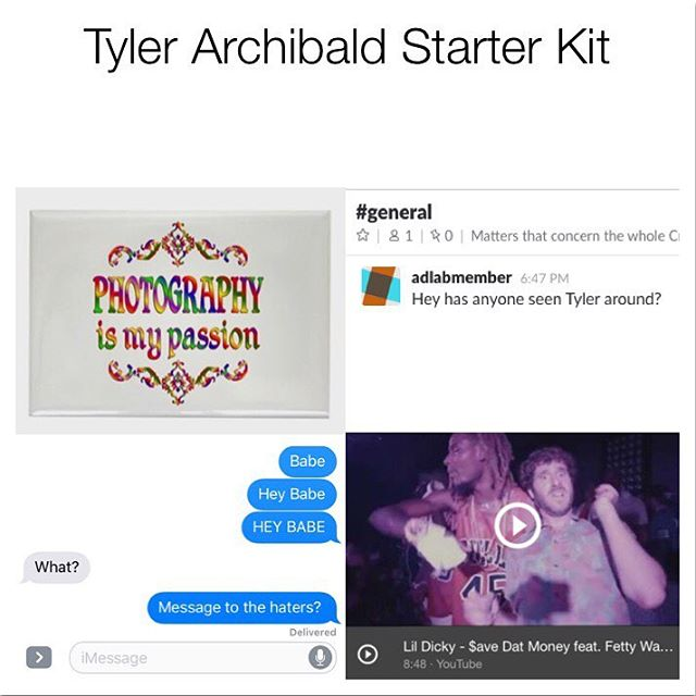 @tylerarchi (Loving what you're sending, btw)